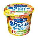 【10%OFF】メグミルク 盛りだくさんヨーグルト 7種のフルーツミックス 180g 12個入