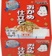 【要冷蔵】タカノフーズ おかめ仕立てミニ3(西日本)(45gX3パック)X12個【送料無料】