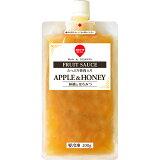 スジャータめいらくフルーツソースたっぷり果肉入り(冷凍)林檎とハチミツ200g