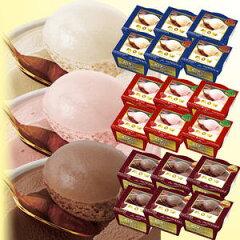 【アイスクリーム】【アイス】【モウ】森永 MOWカップバニラ・イチゴ・チョコ3種×6個詰合せ