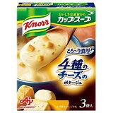 味の素「クノールカップスープ」4種のチーズのとろ〜り濃厚ポタージュ(3袋入)