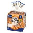【バラ売】パスコ 超熟ライ麦入り 6枚スライス