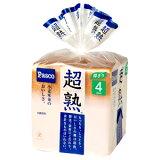 【バラ売】パスコ 超熟食パン 4枚スライス