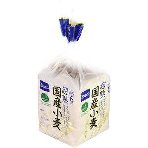 【バラ売】パスコ 超熟 国産小麦 6枚スライス