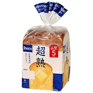 【バラ売】パスコ超熟山型5枚スライス