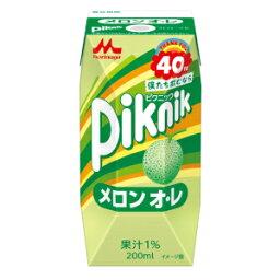 森永乳業 ピクニック メロン オ・レ 200mlx24本【送料無料】