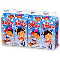 【乳酸菌飲料】グリコ 幼児スポロン4P 6パック
