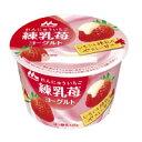 【10%OFF】森永 練乳いちごヨーグルト 125g 6個入