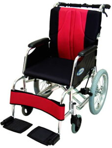 送料無料!立体背・座クッション付車椅子この機能でこの価格は必見です。車椅子 車いす <レビ...