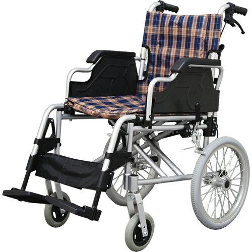 車椅子 車いす 肘掛跳ね上げ式アルミ製車いす/介助式車椅子 ...