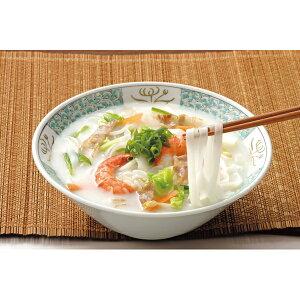 独自製法のツルツルモチモチ平麺と白湯スープがバツグンの相性です!広東風汁ビーフン(82g×5)...