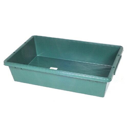 【藤原産業 緑長】 プラスチック製トロ舟特大 [120L]