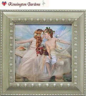 ウェアドリームズゴー(夢が叶う) ヴィンテージフレームS 天使 妖精 絵画 ギフト フォトグラフ 額入り インテリア ファンタジーアート フェアリー エンジェル 結婚祝い 結婚記念日 プレゼント 妖精写真 シャーロットバード Charlotte Bird イギリス 英国雑貨 送料無料