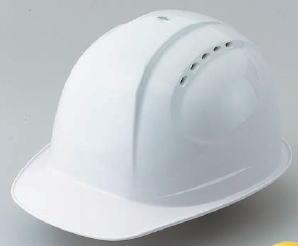 トーヨーセフティー 特大サイズヘルメット(最大65.5cm) 通気孔付きタイプ No.385F-OT ABタイプ(スチロールライナー入)