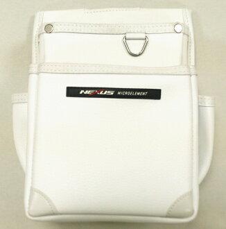 ネクサス【初回入荷分特価】電工用腰袋2段NX-822Wホワイト