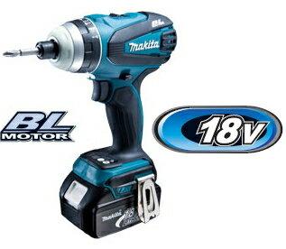 マキタインパクトドライバー18V充電式4モードインパクトドライバーTP141DRFX(青) BL1830B×2個・充電器・ケース
