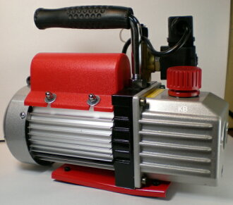 ROBINAIRロビネア小型電磁弁付真空ポンプ1515SJ-C(ケース付)