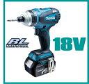 マキタ TP141DRFXマキタ電動工具 18V充電式4モードインパクトドライバー TP141DRFX 【電池2個...