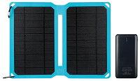 シンワ測定 モバイルバッテリー ソーラーパネル付 78370