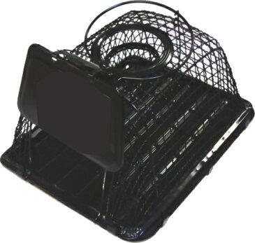 ねずみ駆除 ネズミ捕り 【ブラック】ラットハウス(かご式ネズミ捕り)ねずみとり器