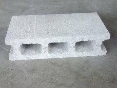 コンクリートブロック 39x10x19cm 約9.6kg 1個売り【4個以上で送料無料】02P06may13