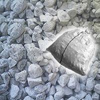 石灰石(砕石)砂利20kg防犯防草に