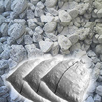 石灰石(砕石)砂利20kg×5袋セット防犯防草に送料無料