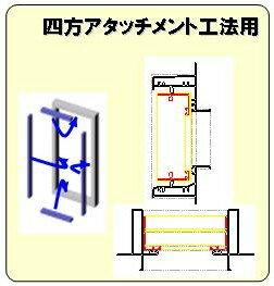 四方アタッチメント工法用