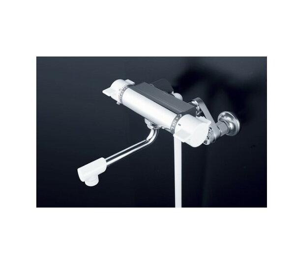 KVKサーモシャワー混合栓寒冷地用PS30WHA|水道用品水栓水栓金具水道栓水道蛇口混合栓シャワーサーモシャワー混合栓水栓用品レ