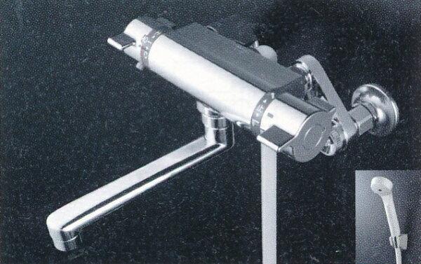KVKサーモシャワー混合栓寒冷地用PS30WTHA|水道用品水栓水栓金具水道栓水道蛇口混合栓シャワーサーモシャワー混合栓水栓用品