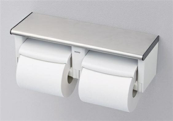 TOTO棚付二連紙巻器YH702|トイレ用品トイレ部品トイレペーパーホルダーホルダートイレットペーパーホルダーアクセサリー部品ト