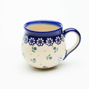 ポーリッシュマグ小[V337-C022]【ポーリッシュポタリー[ポーランド食器・陶器]】