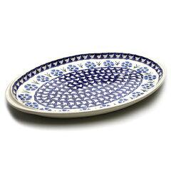 オーバル大皿[W328-29]【ポーリッシュポタリー[ポーランド食器・陶器]】