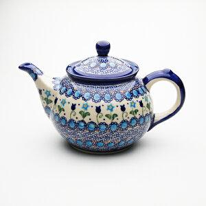 ティーポット・大[V333-U006]【ポーリッシュポタリー[ポーランド食器・陶器]】