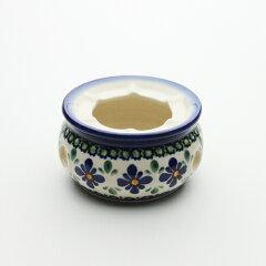 """高さ 5cmφ8.9cmZaklady Ceramiczne """"BOLESLAWIEC""""社製ポットウォーマー・小[Z1118-DU60]【ポー..."""
