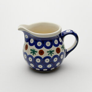 """高さ 8.0cm容量 0.18LZaklady Ceramiczne """"BOLESLAWIEC""""社製クリーマー[Z1355-41]【ポーリッシ..."""