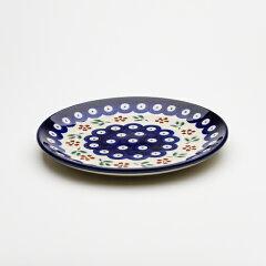 """直径16cmZaklady Ceramiczne """"BOLESLAWIEC""""社製平皿φ16cm[Z818-167A]【ポーリッシュポタリー[..."""