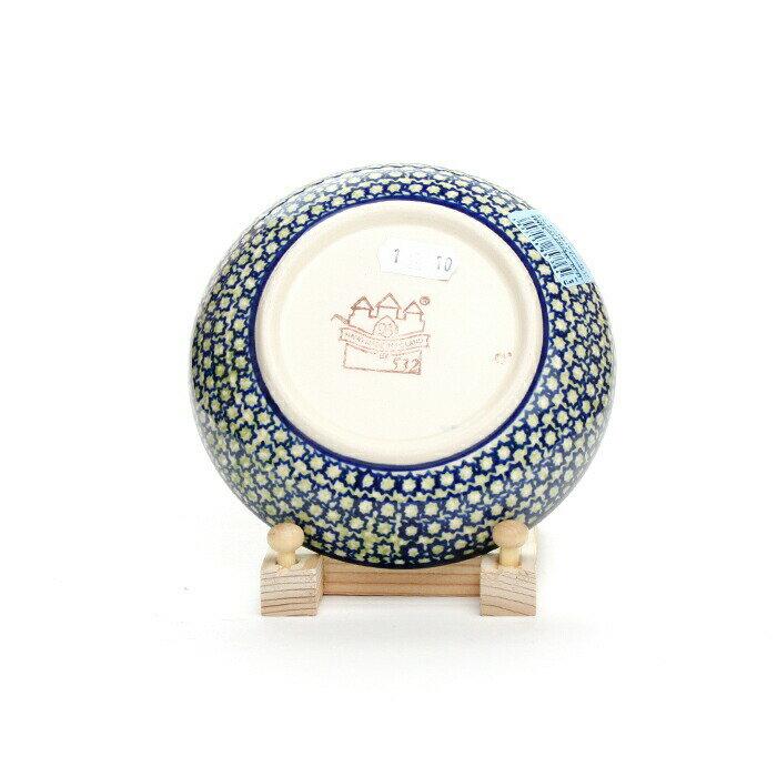 銘々皿[Z1951-DU60]【ポーリッシュポタリー[ポーランド食器・陶器]】
