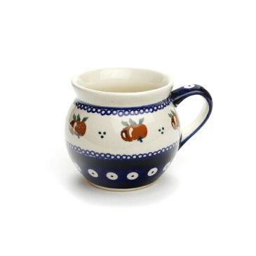 ポーリッシュマグ・小[Z912-479]【ポーリッシュポタリー[ポーランド食器・陶器]】