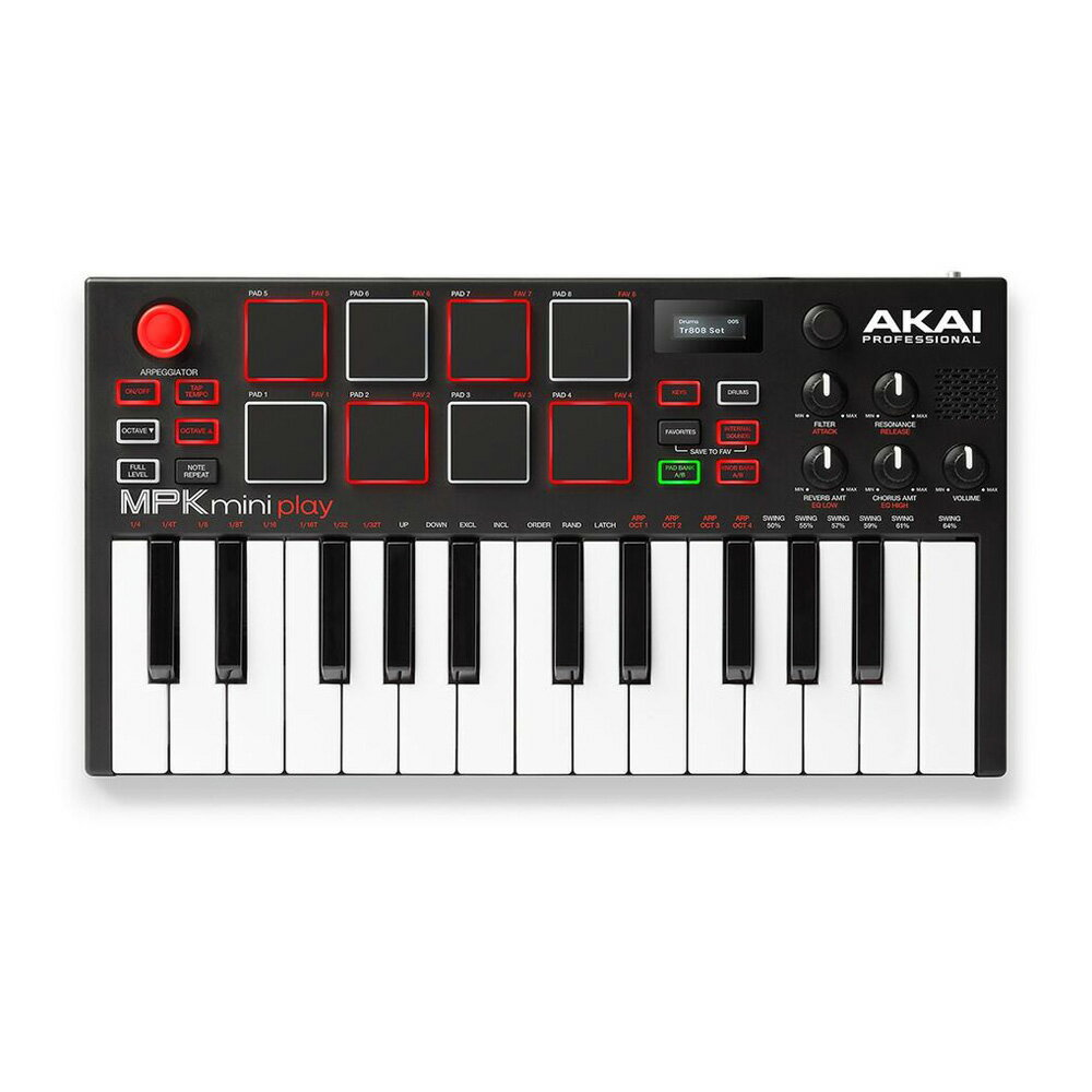 DAW・DTM・レコーダー, MIDIキーボード Akai Professional MPK Mini Play