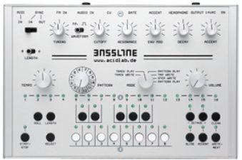 ドイツacidlab社からTB-303 の最新クローンが登場!acidlab / Bassline 2 【 メーカー在庫依存...