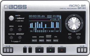 MTRモード、eBandモード、Live Recモードを搭載。手のひらサイズのボディに多機能/高品位を実...