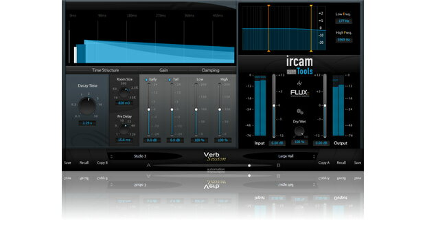 DAW・DTM・レコーダー, 音源 Flux:: IRCAM Verb Session V3