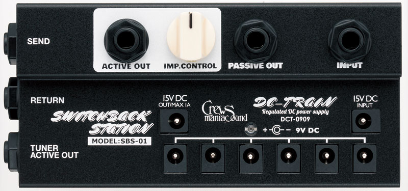 ギター用アクセサリー・パーツ, エフェクター Crews Maniac Sound SBS-01- SWITCHBACK STATION - Crews PREAMP EFFECT Series