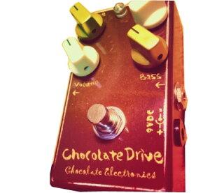中音域に癖を持たせたロックテイストあふれる太いトーンが特徴のオーバードライブ、Chocolate E...