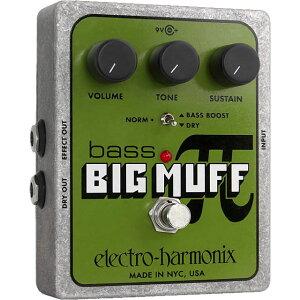 ロシア版Big Muffを基に、Bass Boost / Norm / Dryスイッチを追加したelectro-harmonix Bass Bi...