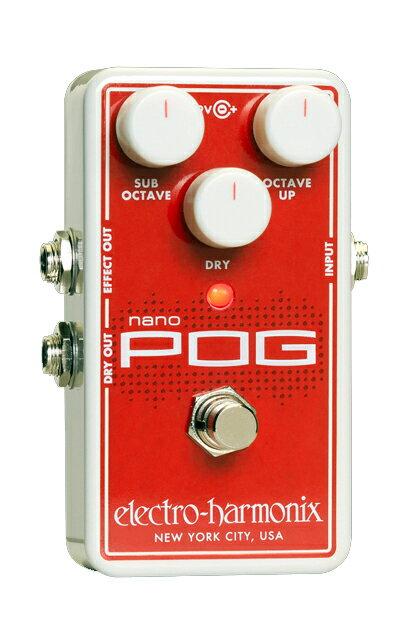 ギター用アクセサリー・パーツ, エフェクター electro-harmonix Nano Pog