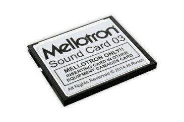 Mellotron Mellotron Sound Card 03【送料無料】