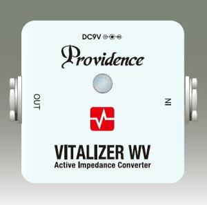 音質の変化や劣化、ノイズの混入を抑えて活きいきした信号を出力するProvidence VZW-1 VITALIZE...