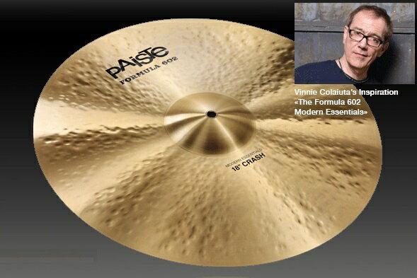 ドラム, クラッシュシンバル PAISTE Formula 602 Modern Essentials (Essectials) Crash 20